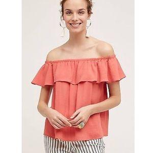Anthropologie Maeve brand off the shoulder blouse